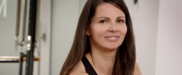 Monika Goncalves - Certified Stott Pilates und TRX Instructor, Inhaberin vom M Pilates Studio in Heidelberg